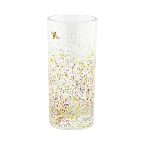 Let It Bee Glass Tumbler